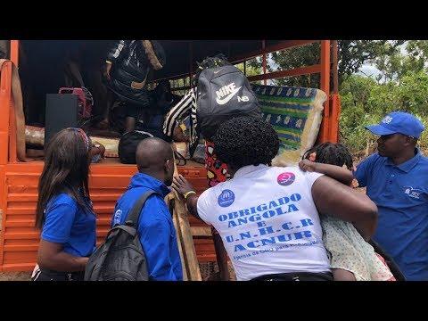 ESPECIAL: Milhares de refugiados retornam de Angola para a RD Congo